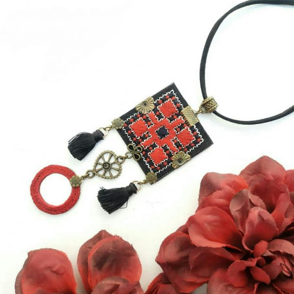 Baluchi necklace and earrings C3(The best-selling handicrafts in 2020)