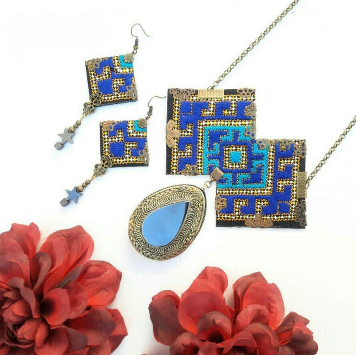 Balochi needlework set C6(The best-selling handicrafts in 2020)