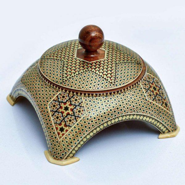 Khatam Kari Sugar pot