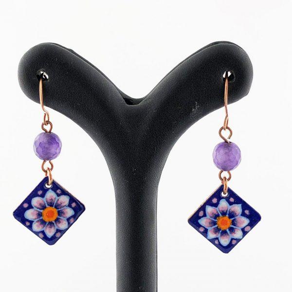 Women's flower earrings design gz99